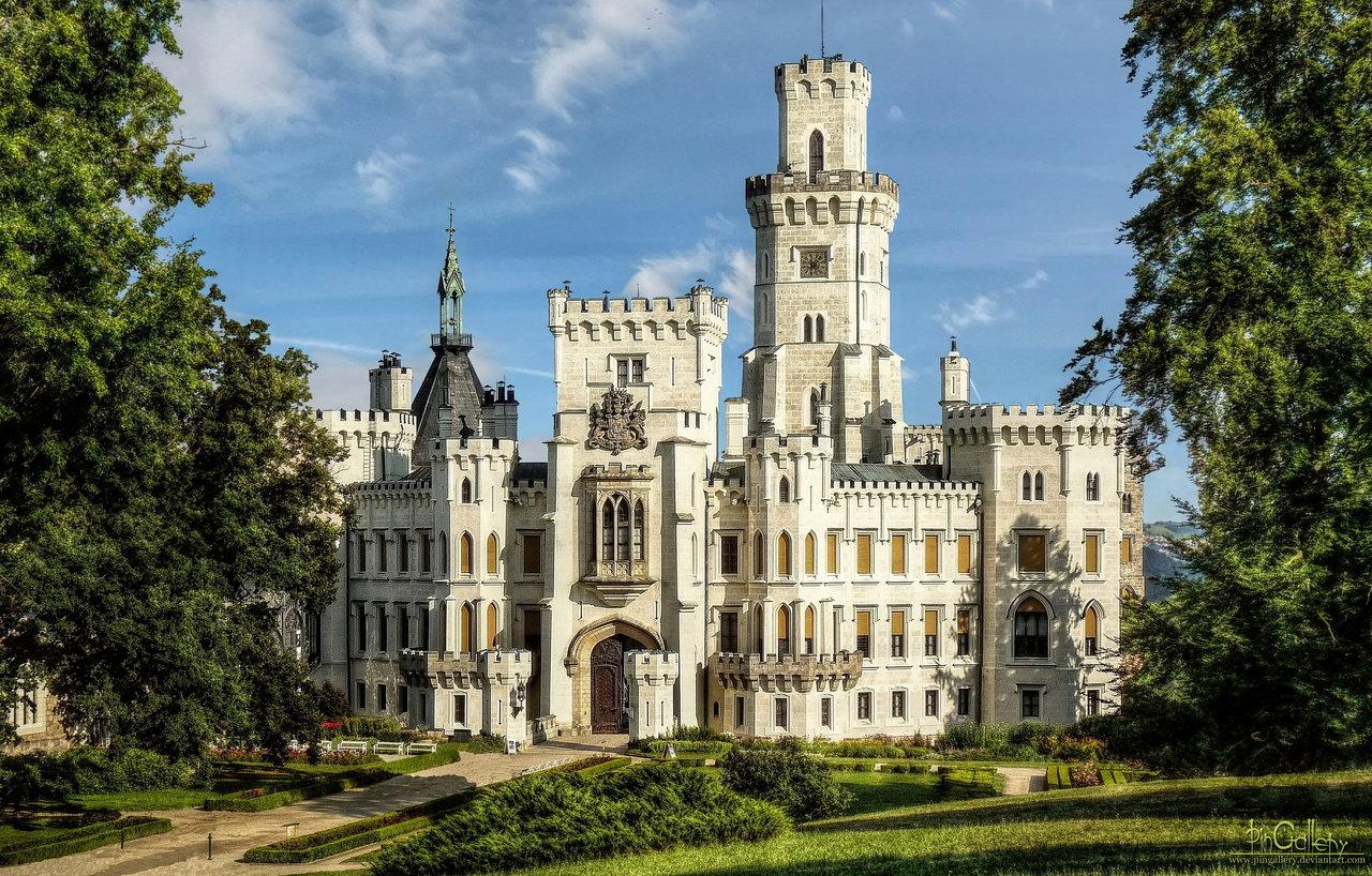 castle_hluboka_nad_vltavou_by_pingallery-d4ce3wg